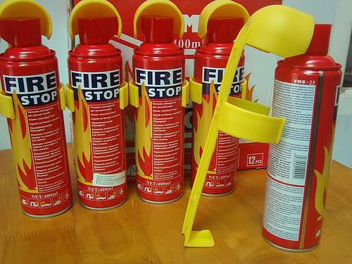 Bình cứu hỏa phải được để trong chỗ mát