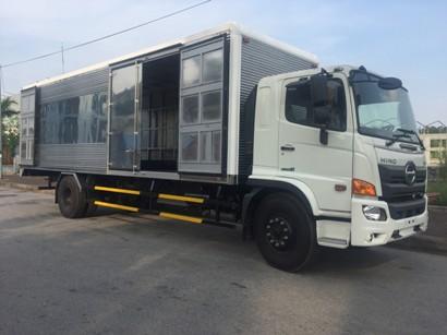 giá xe tải hino 8 tấn thùng kín tại nghệ an