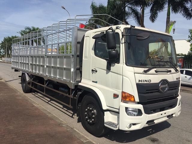 giá xe tải hino 8 tấn thùng mui bạt tại hà nội