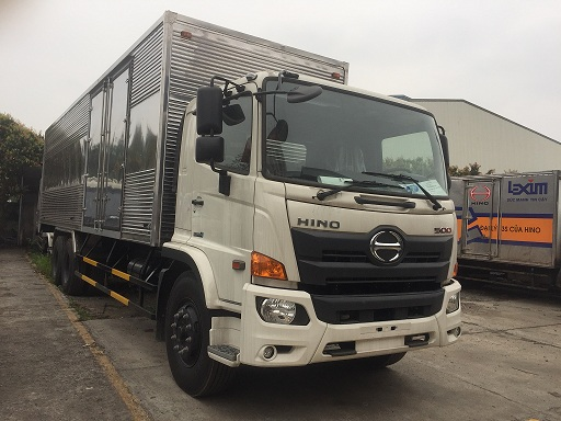 giá xe tải hino 15 tấn thùng kín tại hà nội