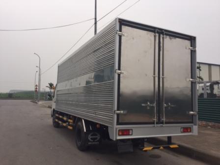 giá xe tải hino 3,5 tấn thùng kín tại vĩnh phúc