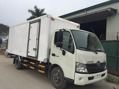 giá xe tải hino 3,5 tấn thùng kín