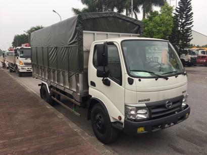 giá xe tải hino 5 tấn thùng mui bạt tại thái nguyên