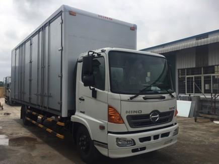 giá xe tải hino 5 tấn thùng chở palet tại hà nội