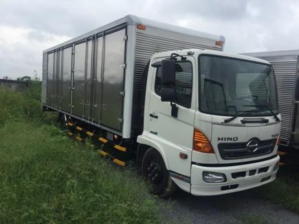 giá xe tải hino 5 tấn thùng chở palet tại hải phòng