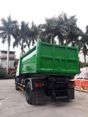 xe tải hino 9.4 tấn chở rác
