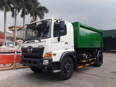 xe tải hino 9.4 tấn ép rác