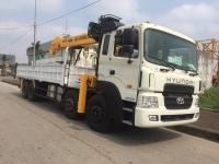 Xe tải Hyundai HD320 gắn cẩu Soosan 12 tấn SCS1015LS