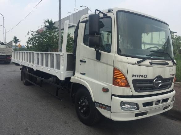 xe tải Hino 6,4 tấn thùng lửng
