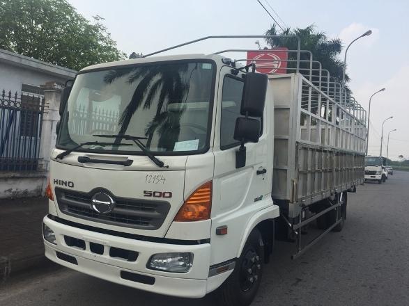 XE TẢI HINO 6,4 TẤN - HINO FC9JLTA -THÙNG DÀI 6,6M